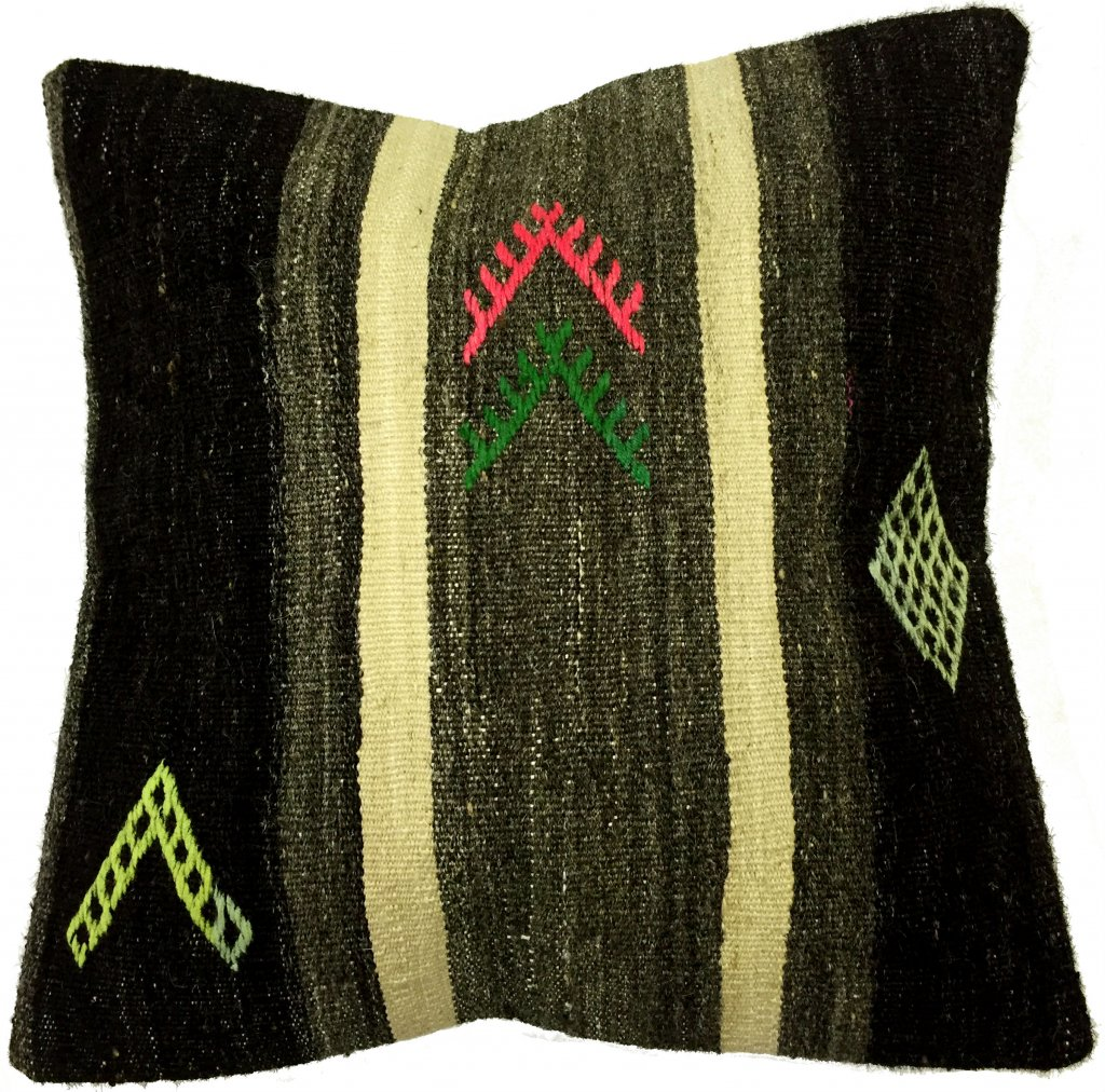 coussins kilim housse de coussin 50 x 50 cm. Black Bedroom Furniture Sets. Home Design Ideas