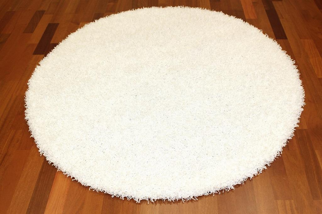 Tapis rond - Fancy (Blanc)