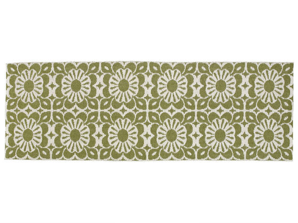 tapis en plastique le tapis de horred plant vert. Black Bedroom Furniture Sets. Home Design Ideas