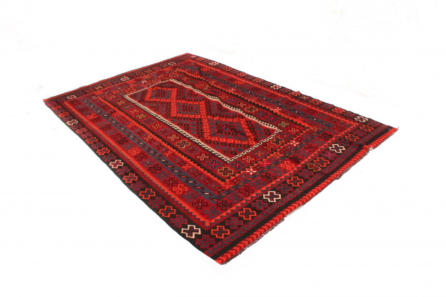 tapis kilim afghan 301 x 202 cm. Black Bedroom Furniture Sets. Home Design Ideas